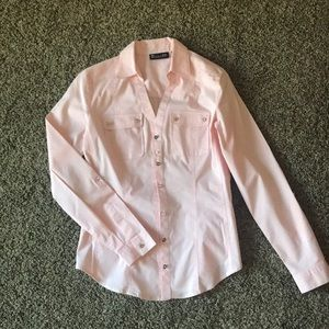 New York & Co button up